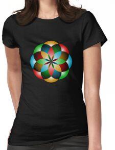 Orbifold Tarot Insignia Womens Fitted T-Shirt