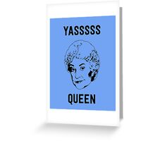 Queen Bea Greeting Card