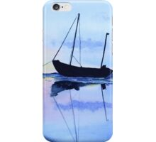 Single Boat Seascape iPhone Case/Skin