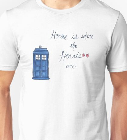 Home is Where the Hearts Are Unisex T-Shirt