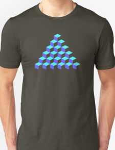 Q*Bert Pyramid Unisex T-Shirt
