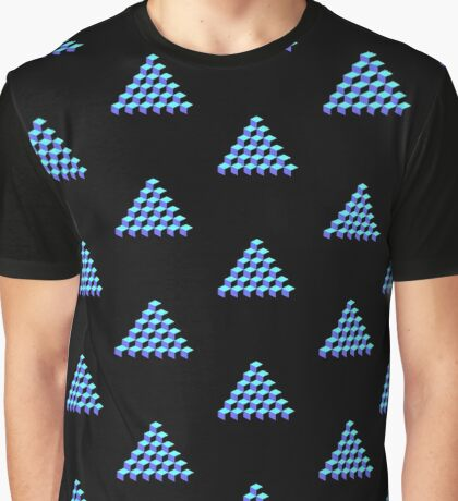 Q*Bert Pyramid Graphic T-Shirt