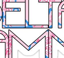 Delta Gamma w/ DG Pattern Sticker