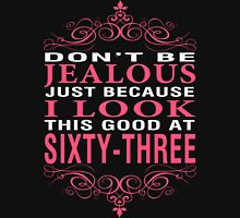 Don't Be Jealous - 63 Women's Fitted V-Neck T-Shirt