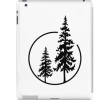 Two Simple Trees in a Circle iPad Case/Skin