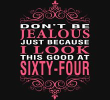 Don't Be Jealous - 64 Women's Fitted V-Neck T-Shirt