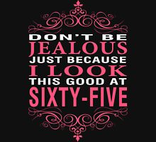 Don't Be Jealous - 65 Women's Fitted V-Neck T-Shirt