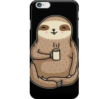 Coffee Sloth iPhone Case/Skin