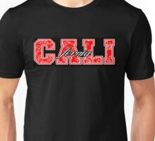 "Northern ""California"" (Red Bandanna Design) Unisex T-Shirt"