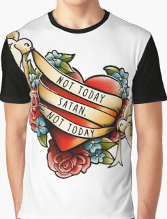 Not Today Satan Graphic T-Shirt
