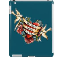 Not Today Satan iPad Case/Skin