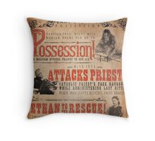 penny dreadful possession Throw Pillow