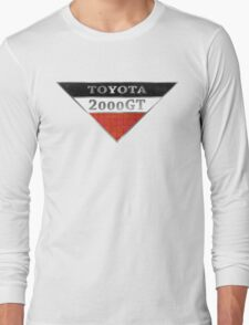 Toyota 2000GT Graphic Long Sleeve T-Shirt