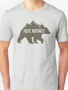 PNW Mountain Bear Unisex T-Shirt