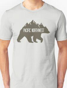 PNW Mountain Bear Unisex T-Shirt