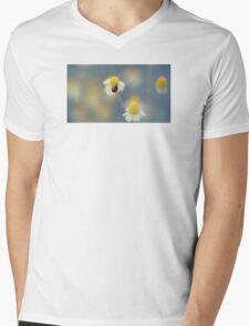 Daisy Ladybug Mens V-Neck T-Shirt