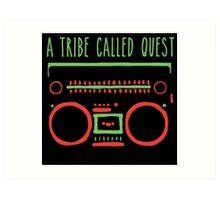 a tribe on tape Art Print