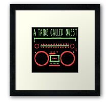 a tribe on tape Framed Print