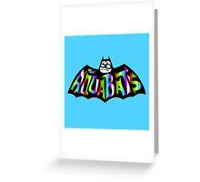 AQUABATS : SKA PUNK Greeting Card