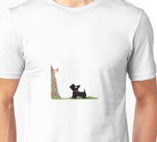 Scottie Dog, 'Squirrel' Unisex T-Shirt