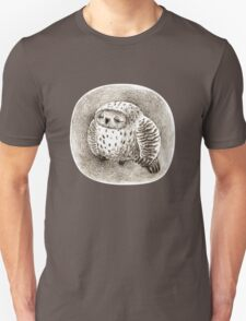Great Grey Owl Sleeping In a Hollow T-Shirt