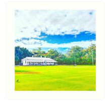 James Oval 16 Art Print