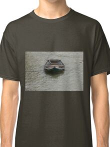 boat on the river Classic T-Shirt