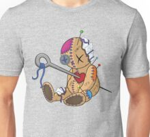 Wounded voodoo doll Unisex T-Shirt