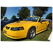 2004 Ford Mustang (40th Anniversary Edition) Poster