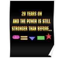 Zeo 20th Anniversary 1 Poster