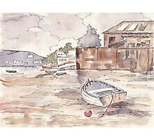 Private Boathouse at Harties Photographic Print