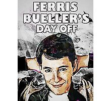 Ferris Bueller's Day Off Save Ferris Photographic Print