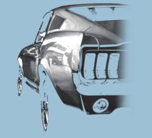 ford mustang v8 Kids Tee