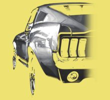ford mustang v8 Baby Tee