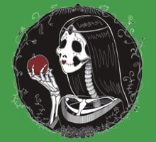 Snow White (Stack's Skull Sunday) Kids Tee