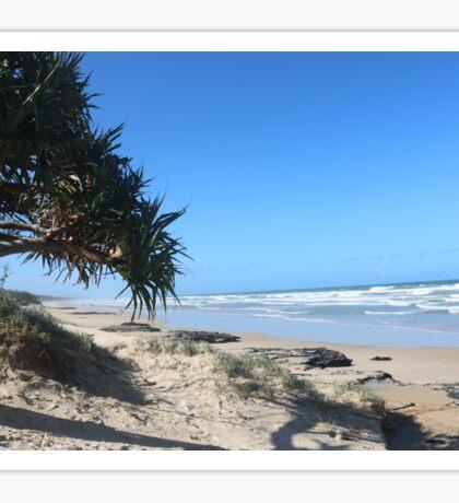Coolum Beach, Qld Australia Sticker