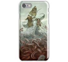 Dragon Warriors Players Book iPhone Case/Skin