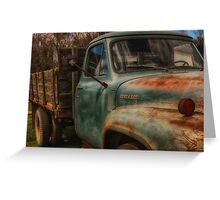 1954 Ford F-500 Greeting Card