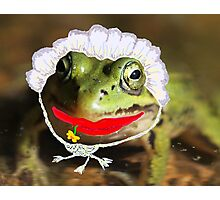 Mrs. Frog Photographic Print