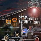Sam Brasher Tire And Automobile Service by Mike Pesseackey (crimsontideguy)