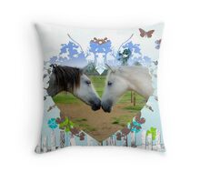 FOR THE LOVE OF HORSES Throw Pillow