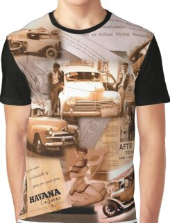 VINTAGE CAR GALLERY Graphic T-Shirt