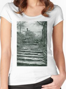 Steps Women's Fitted Scoop T-Shirt
