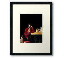 Audrey Horne, RR diner Framed Print
