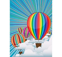 Colorful Hot Air Balloons 3 Photographic Print