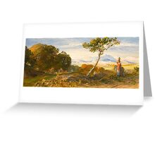 Samuel PALMER (Newington - Redhill ) ,In the Chequered Shade Greeting Card