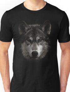 Halftone Wolf Animal Unisex T-Shirt