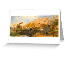 Samuel PALMER (Newington  - Redhill ) ,In Vintage Time,  Greeting Card