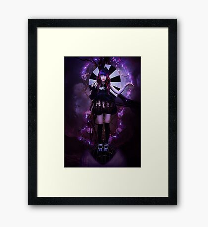 Eight of Cups Framed Print
