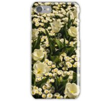 White Flowers iPhone Case/Skin